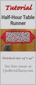 10 minute table runner pattern free bing images sewing for 10 minute table runner directions