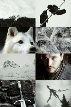 A Song of Ice and Fire Jon Snow aesthetic