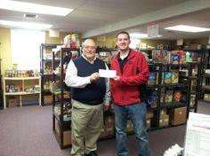 Paint Store Makes Donation to Saukville Food Pantry - Port Washington-Saukville, WI Patch
