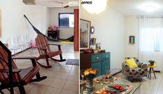 Reforma cria estar, jantar e brinquedoteca no mesmo ambiente. Fotos da revista MINHA CASA.