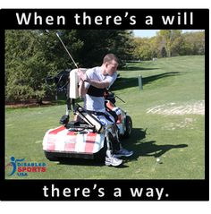 There's a way!  Disabled Sports USA www.dsusa.org