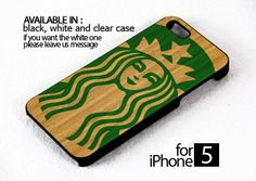 AJ 228 Starbucks Addict - iPhone 5 Case | FixCenter - Accessories on ArtFire