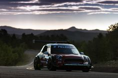 Mini takes on Pikes Peak