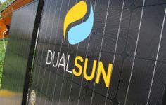 Le DualSun est un panneau solaire hybride de nouvelle génération qui fournit à la fois de l'électricité (photovoltaïque) et de l'eau chaude (thermique) pour les bâtiments. Protégé par plusieurs brevets, le panneau DualSun produit de deux à quatre fois plus d'énergie qu'un panneau photovoltaïque de la même surface.