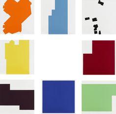 我的城市框架III-我的RMIT 陳曉朋 壓克力畫 30.5x30.5x2cm x8p
