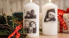 Vánoční dárky už máte nakoupené, ale ještě byste chtěli darovat nějakou drobnost? Zkuste svou rodinu i přátele překvapit svíčkou s fotkou. Poradíme vám, jak ji jednoduše vyrobíte. Pillar Candles, Diy And Crafts, Xmas, Inspiration, Decor, Advent, Photography, Bricolage, Biblical Inspiration