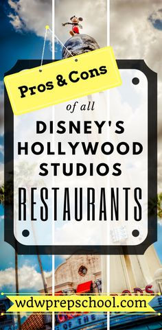Not sure where to eat at Disney's Hollywood Studios? | Check out this comprehensive list of all your options | Disney World | Disney Dining Plan | Table Service | Quick Service | Disney Snack credits