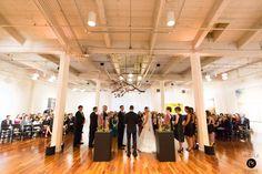 Wedding ceremony - Wedding at Terra Gallery, San Francisco {Photo by Bustle & Twine}