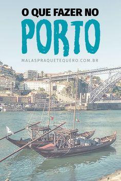 Procurando dicas sobre o que fazer em Portugal? Planeje sua viagem para Lisboa e Porto usando essas dicas de atrações, passeios e restaurantes. Eurotrip, Travel Around The World, Around The Worlds, Portugal Travel, Porto Portugal, Amsterdam, Travel Inspiration, Traveling By Yourself, Tourism