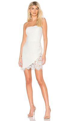 e256b050320 Amanda Uprichard Devyn Dress in White