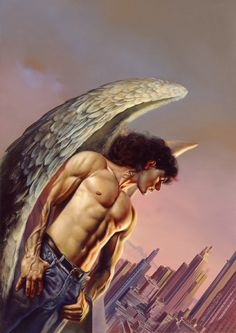 Angel Of The City by Boris Vallejo