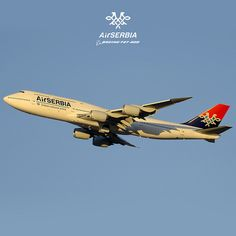 Air SERBIA / Boeing 747 / Livery concept