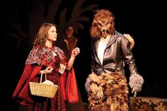 Into The Woods Play Wolf
