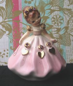 """Vintage Josef Originals """"February"""" Doll OF THE Month Series Made IN California 