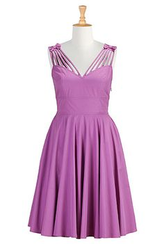 I <3 this Violet plus size dress from eShakti