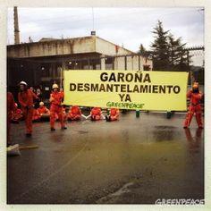 ACCIÓN En vivo/ Greenpeace desmantela Garoña | Greenpeace España