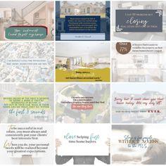 75 Premade realtor images (Set 2)     Social Success Marketing® Twitter Image, Facebook Image, Instagram Square, Instagram Story, Social Media Images, Social Media Graphics, Pinterest Images, Colour Images, Marketing