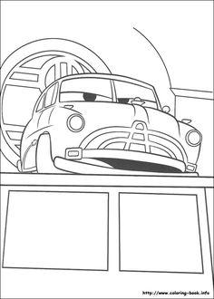 Desenho filme carros