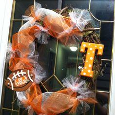 TN Vols wreath
