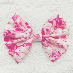 Imagem de pink, bow, and fashion