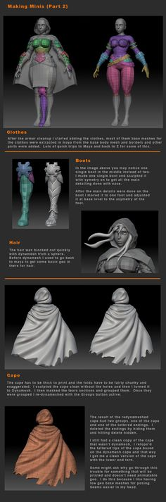 ArtStation - Allison - Includes Minis Tutorial, Hector Moran