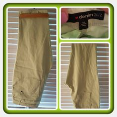 NWOT Woman's Light Green Capri's Size 24W  Brand New Melon Green Woman's Capri's From Woman Within Brand Is denim 24/7 Size Is 24W. These Are Very Pretty For Spring & Summer In Excellent Condition  PAYPAL  TRADES  NO OFFERS AT THIS TIME PRICE IS FIRM  Woman Within Pants Capris