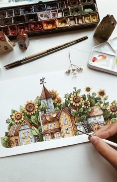 Artist Tonia Tkach paints storybook illustrations inspired by the world around her   FREEYORK