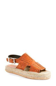 REBECCA MINKOFF 'Gabriel' Espadrille Platform Sandal (Women). #rebeccaminkoff #shoes #sandals