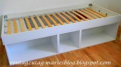 Von Tag zu Tag - Maries Blog: Ferienprojekt - wir bauen zwei Betten!
