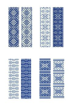 ArtStitch Studio - blog about handcrafted journals and jewelry: winter collection of peyote stitch patterns