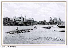 Marina, Madras 1890