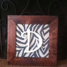 """My newest """"initial"""" creation"""