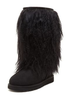 UGG Australia  Tall Sheepskin Cuff Boot