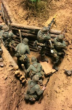 Best Hobbies can find Military diorama and more on our website. German Soldiers Ww2, German Army, Toy Soldiers, Military Action Figures, Modeling Techniques, Model Tanks, Wargaming Terrain, Modelos 3d, Military Modelling