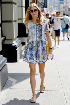 harpersbazaar: Today's Style Secret: Olivia Palermo's Matching...