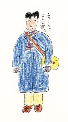 安西水丸の「原点」も紹介、原画など約500点から約40年を回顧する『安西水丸展』