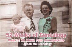 Teach Me Genealogy: 52 Weeks of Genealogy