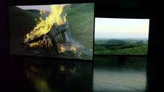 Installation video of: DOUGLAS GORDON: The End of Civilisation September 8--October 13, 2012