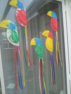 Ideas Bird Crafts Preschool Reading For 2019 Preschool Crafts, Fun Crafts, Crafts For Kids, Arts And Crafts, Zoo Activities Preschool, Kids Diy, Decor Crafts, Daycare Crafts, Toddler Crafts