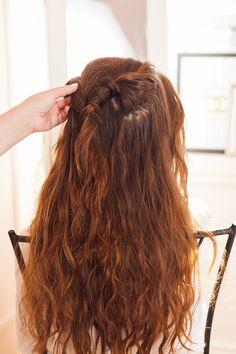 An easy step-by-step hair tutorial