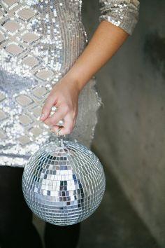Party time  + Disco ball.