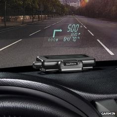 Sat-nav firm Garmin has made a portable head-up display (HUD) for cars that projects turn-by-turn directions on to a vehicle's windscreen.