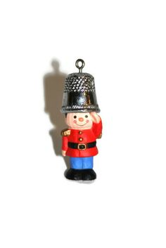 Hallmark Christmas Ornament  1979  Thimble Soldier  by CocoRaes, $15.00