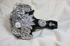 Bouquet spille .Bouquet da sposa .. di cristinacrystal su Etsy