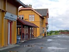 The township with the quaint name of Hell, Norway is next to Trondheim Airport.