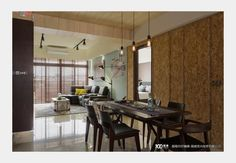 工•樂_工業風設計個案—100裝潢網 Conference Room, Divider, Interior, Table, Furniture, Home Decor, Decoration Home, Indoor, Room Decor
