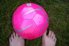 i miss summer, and running around barefoot with a soccer ball at my feet.♥