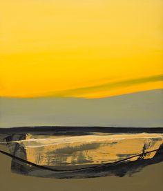 Autumn - Dusk Oil on panel, 35x30cm 2014 by Neil Canning