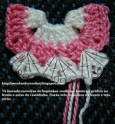 PAP: Mini vestido de crochet - Maternidad Souvenir - Imán