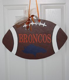 Go Broncos!  Can customize to any team!